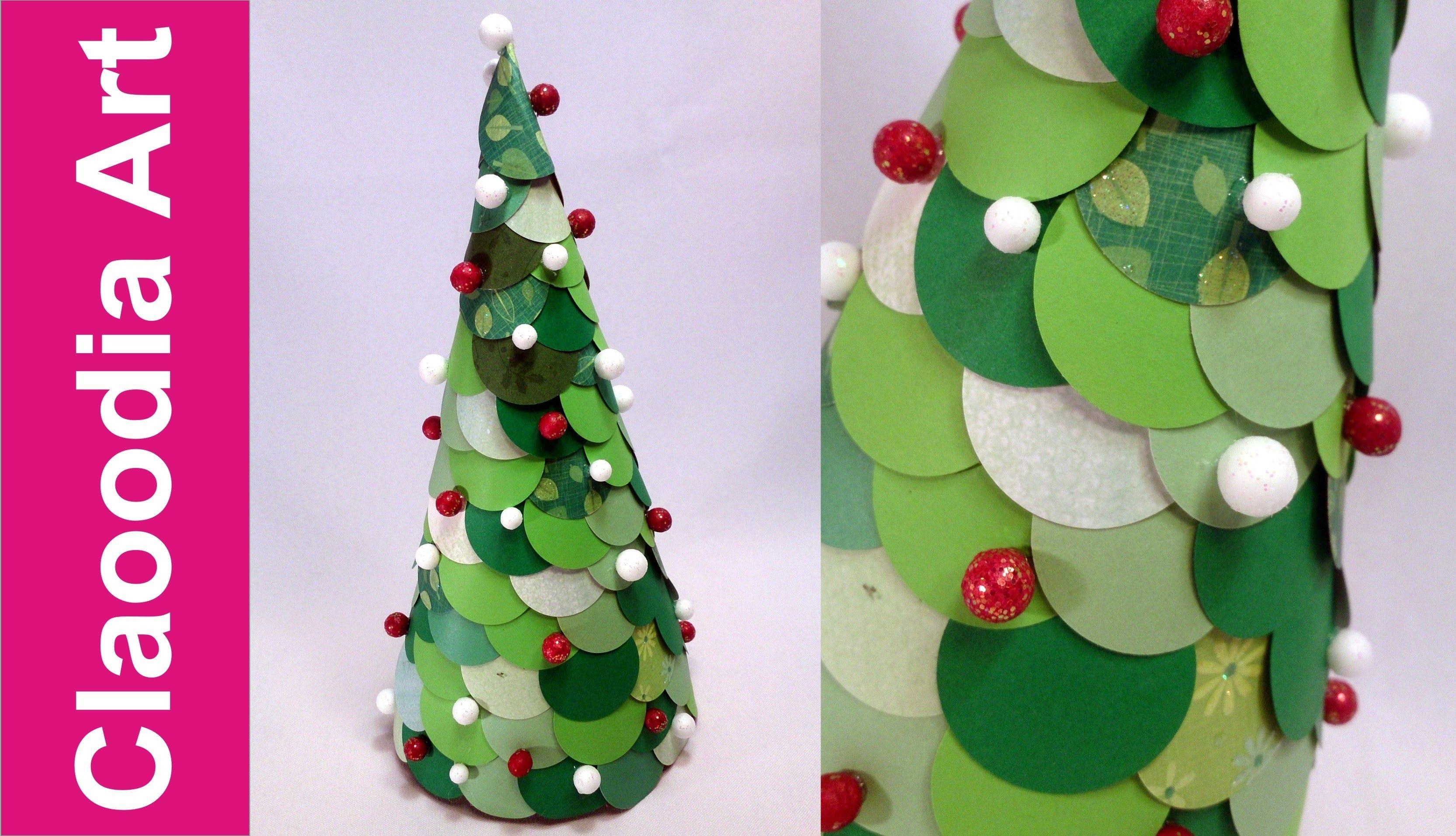 Choinka Z K Ek Z Papieru (Paper Christmas Tree)