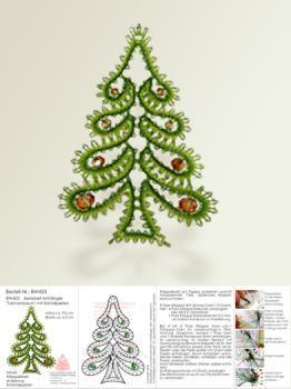 423 bastelset anh nger tannenbaum mit kristallperlen. Black Bedroom Furniture Sets. Home Design Ideas