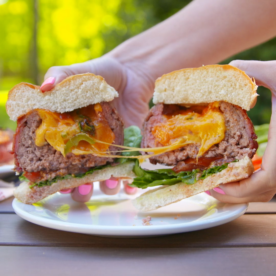 Just when you thought burgers couldn't get any better ... these beer can burgers will change everyt