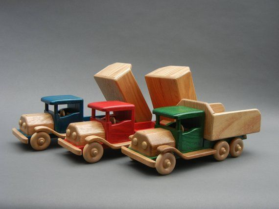 Old Timer Dump Truck Wooden Truck Dump Truck Trucks