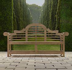 Teak Benches Restoration Hardware Lutyens Bench Garden Bench Teak Bench
