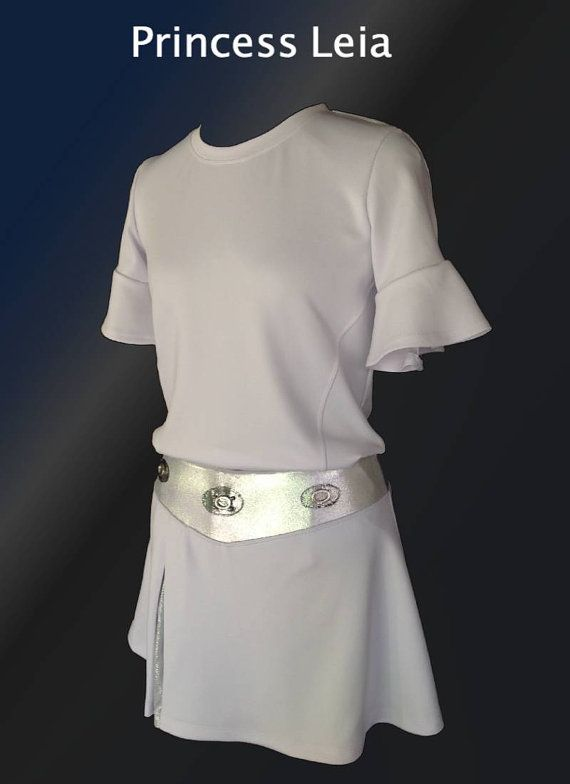 Princess Leia Inspired Complete Running Out By Iglowrunning 124 00 Although I Think Have A Friend That Sews Could Just Add Sleeves On White