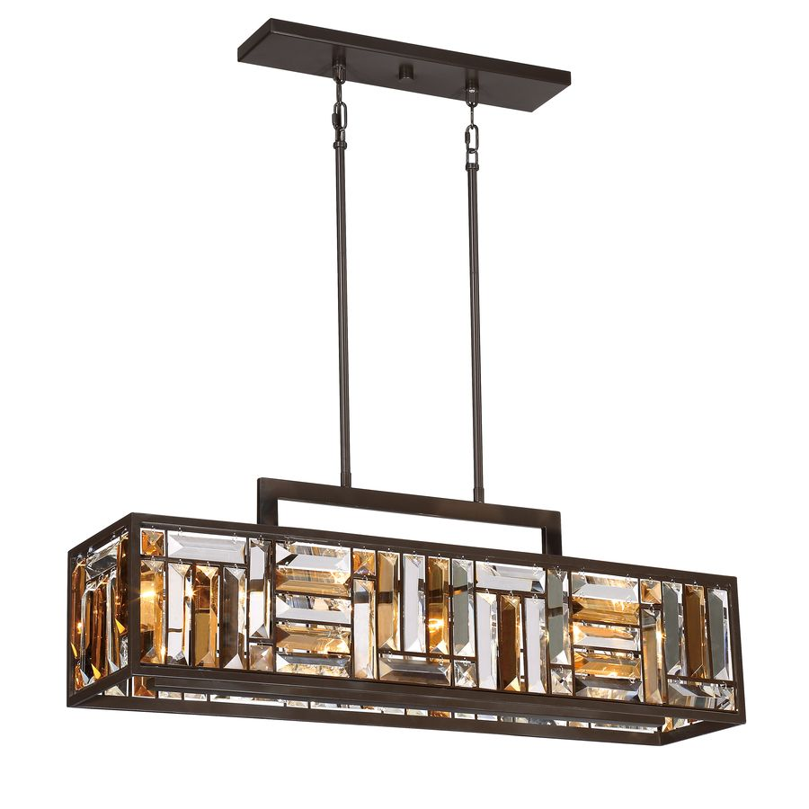 Quoizel crossing 825 in w 4 light bronze kitchen island light with quoizel crossing 825 in w 4 light bronze kitchen island light with tinted shade arubaitofo Gallery