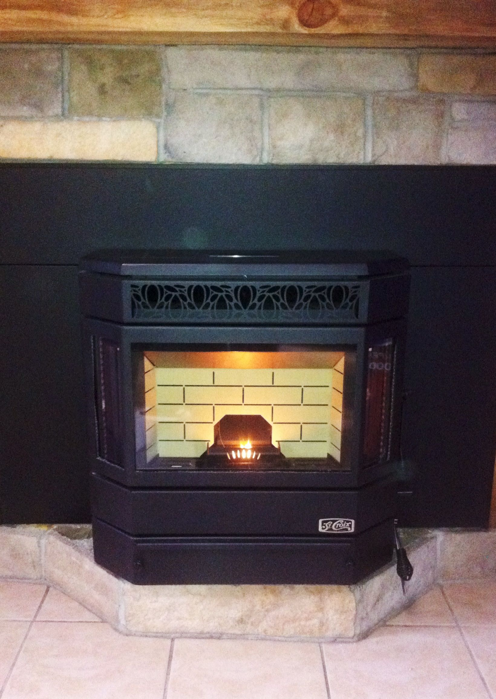 St Croix Ashby P Pellet Stove Insert Complete Unit Install By Gcs