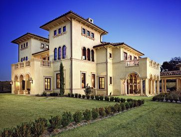 Italian Exterior Design Ideas Pictures Remodel And Decor Tuscan House Italian Mansion Mansions