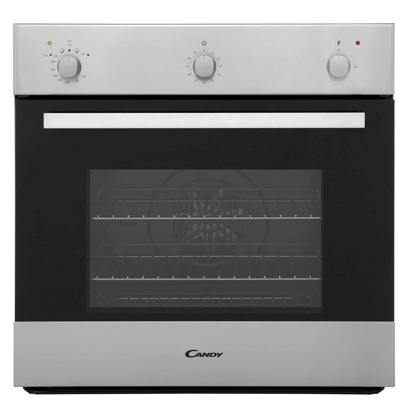 Built In Single Gas Oven Part - 16: Candy OVG505/3X 600mm Built-in Single Gas Oven S/Steel (Barcode