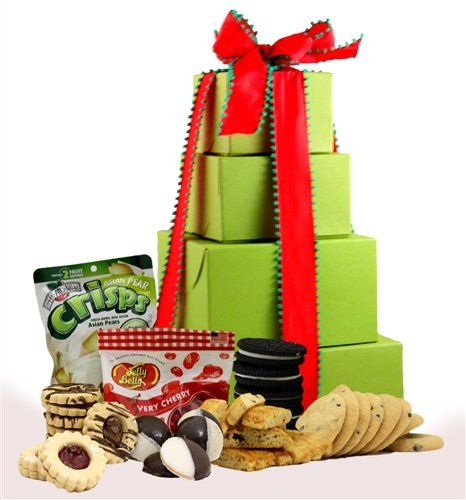 Holiday delight gluten free gift tower mishloachmanot holiday delight gluten free gift tower mishloachmanot purimgiftbaskets glutenfree koshergiftbaskets negle Choice Image