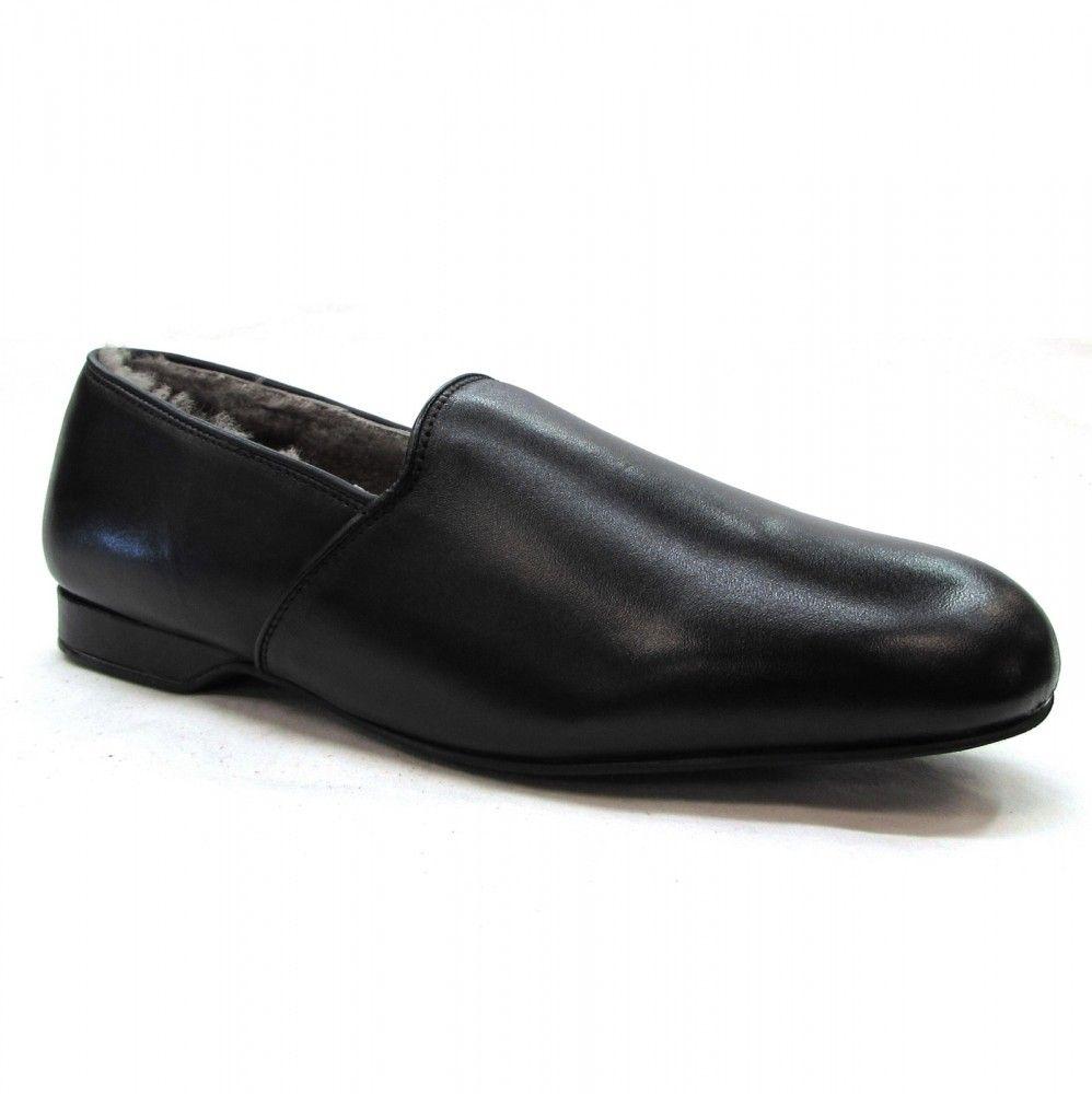 a8f0d944e56 Men's Draper of Glastonbury - Greg Slipper - Black | Clothes ...