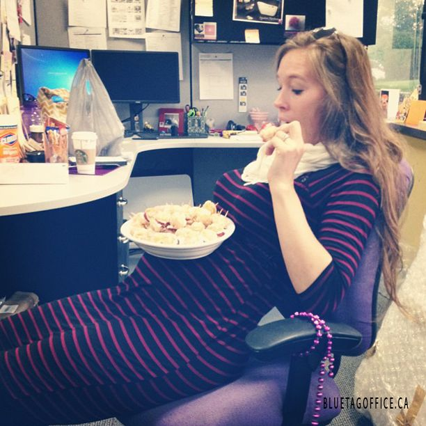 Office babes get tasty after work