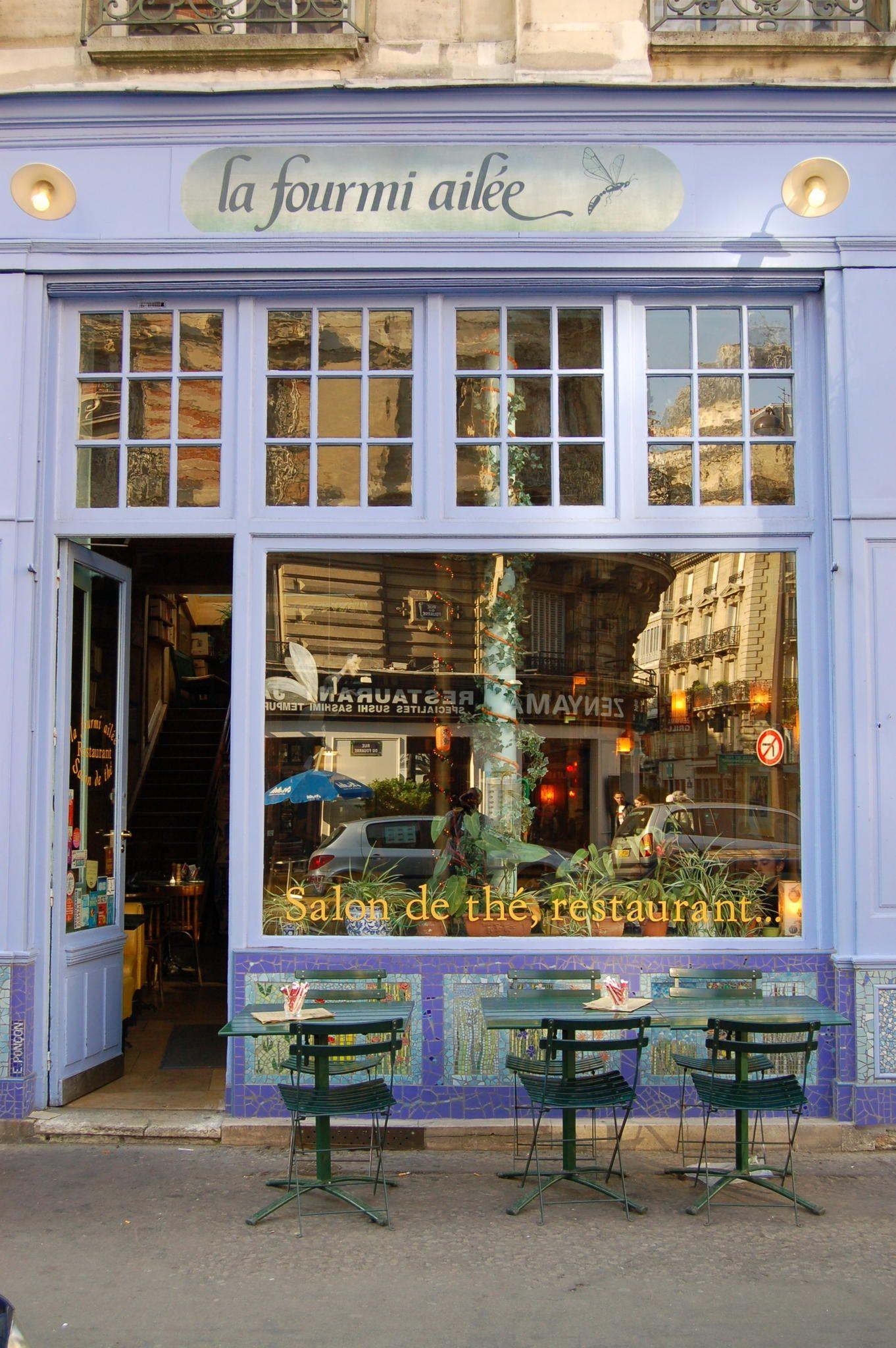 A Coffee Shop in Paris - France