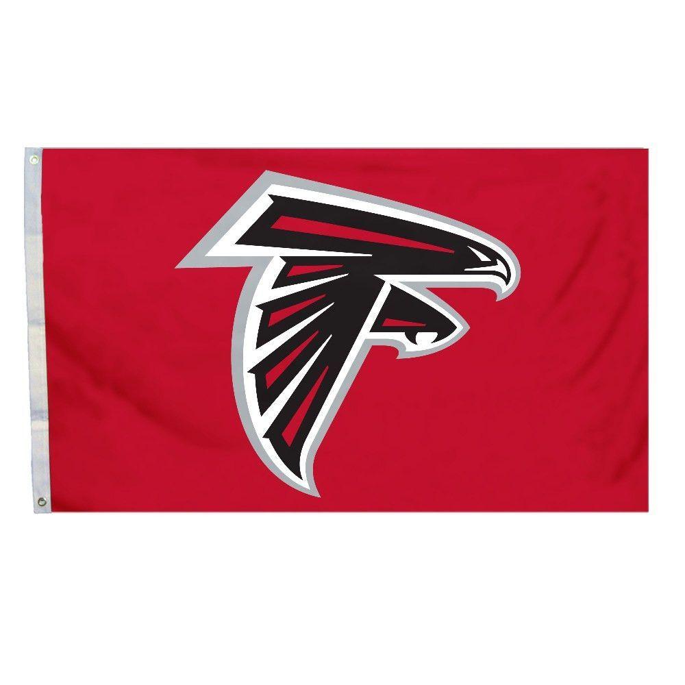 Logo Flag 3ft X 5ft Atlanta Falcons Atlanta Falcons Flag Atlanta Falcons Logo Atlanta Falcons