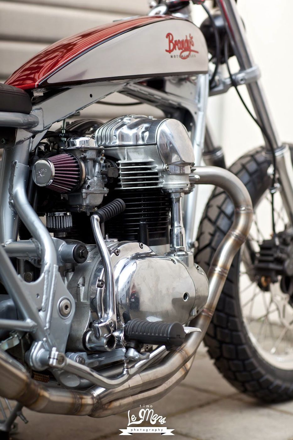 For Motorcycle fans: W650 Dirt Racer Click to read the story behind