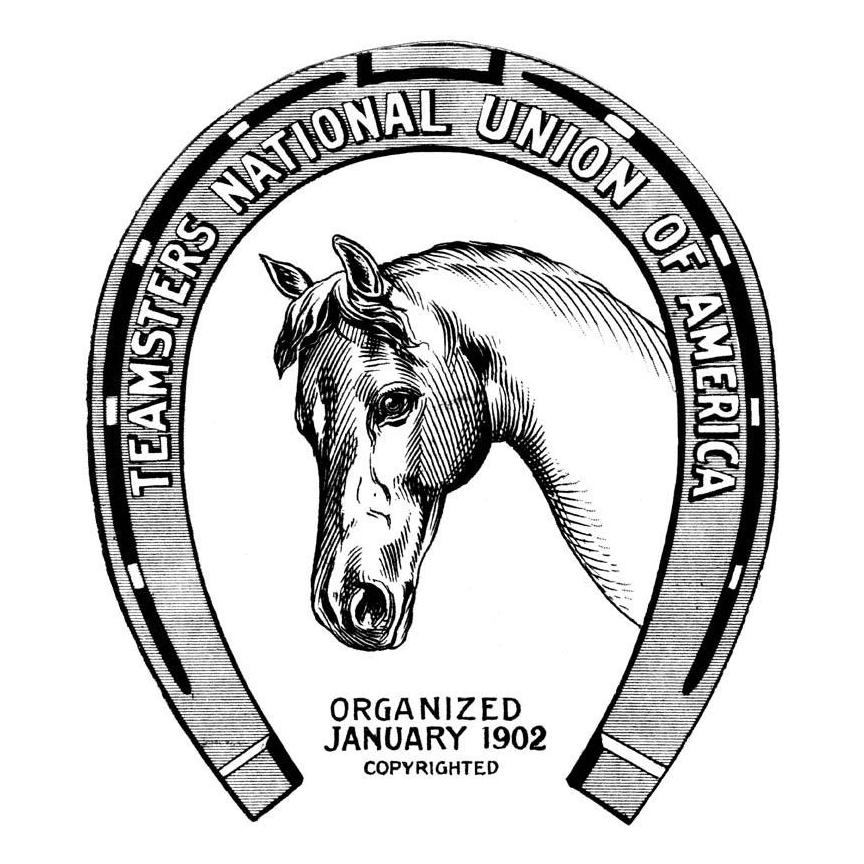 A Vintage Teamsters' Logo   teamsters   Union logo, Horse