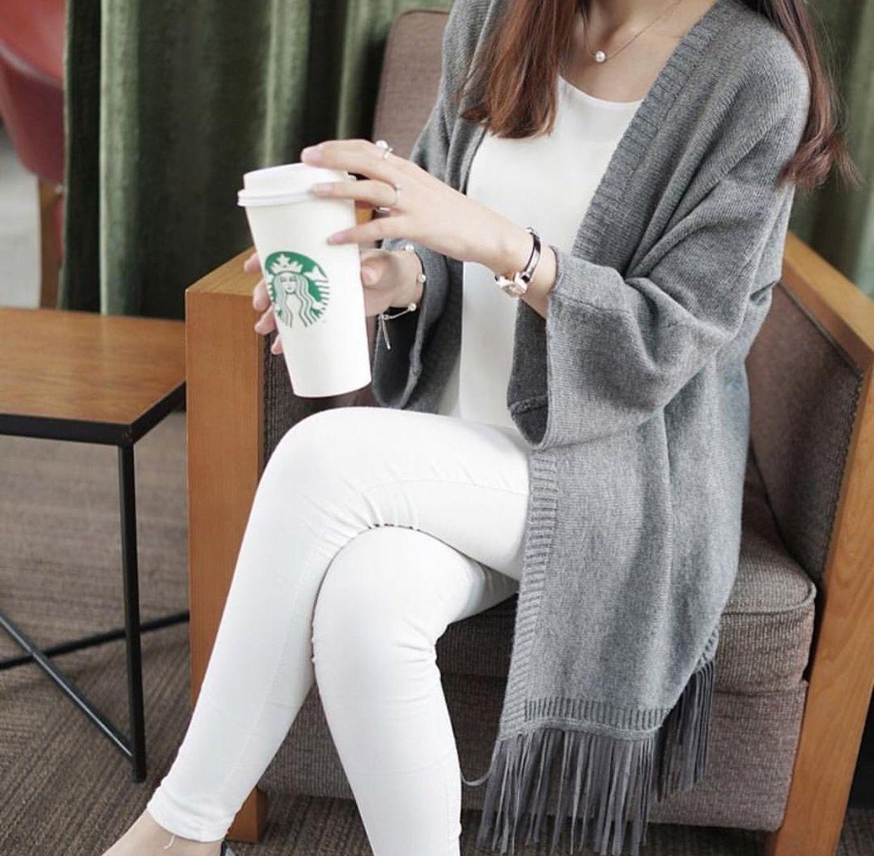 Pin By Nourah Al Shehab On Noni Sweater Dress Fashion White Jeans