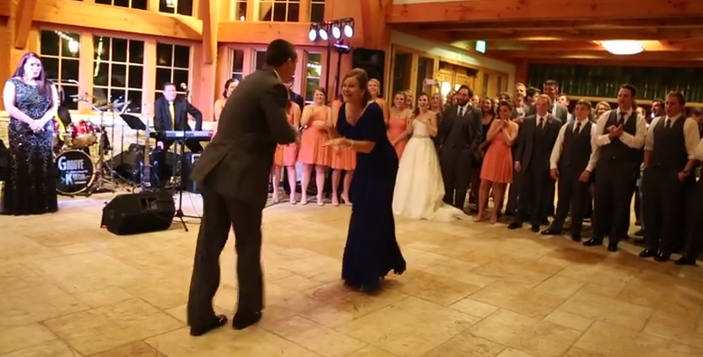 Finally A Mother-Son Wedding Dance That Overshadows The