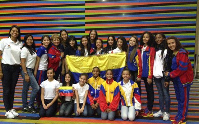 Gimnasia rítmica: Venezuela se trajo 14 medallas del Suramericano #Deportes http://bit.ly/2e83Inx