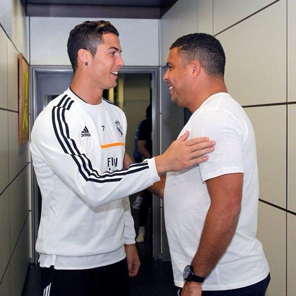 Ronaldo and Cristiano Ronaldo R9 and R7 The real legend (With ...