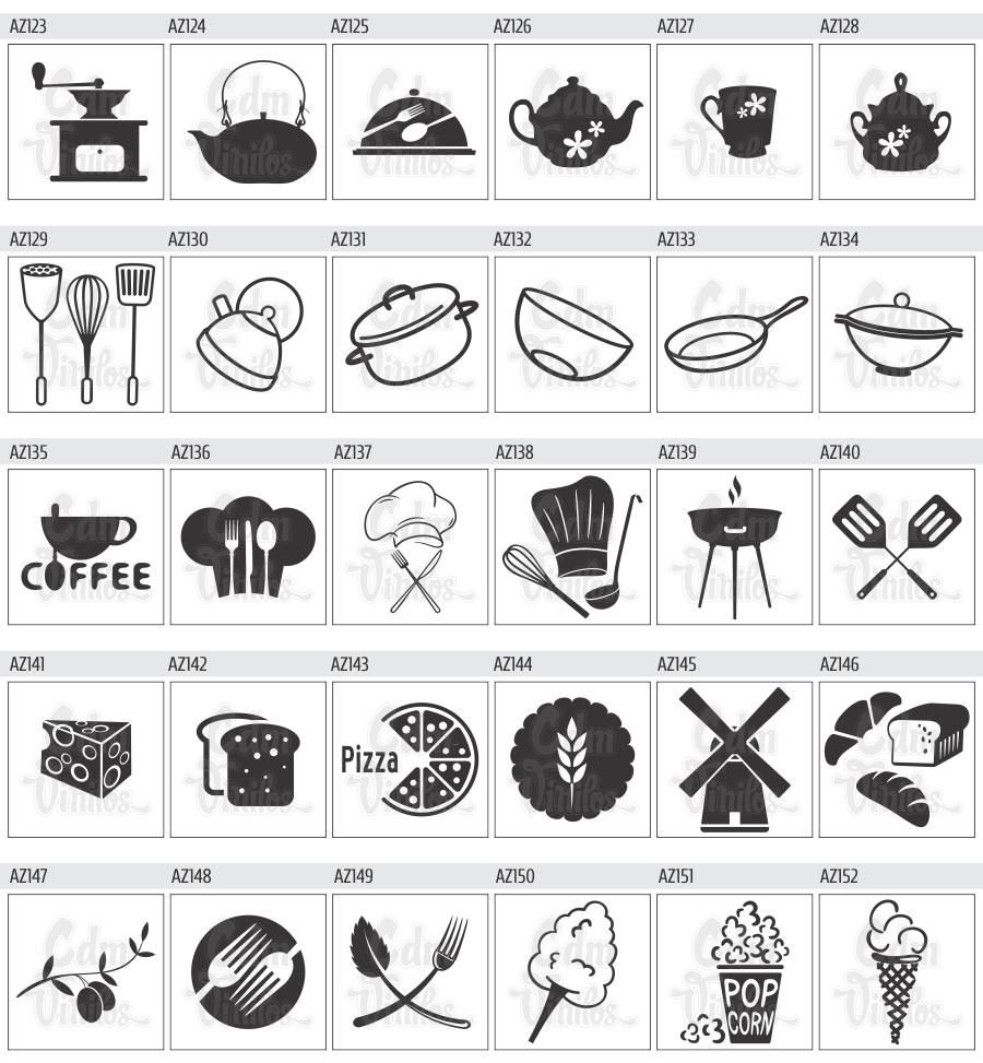 Vinilos decorativos cocina azulejos buscar con google for Azulejos decorativos cocina