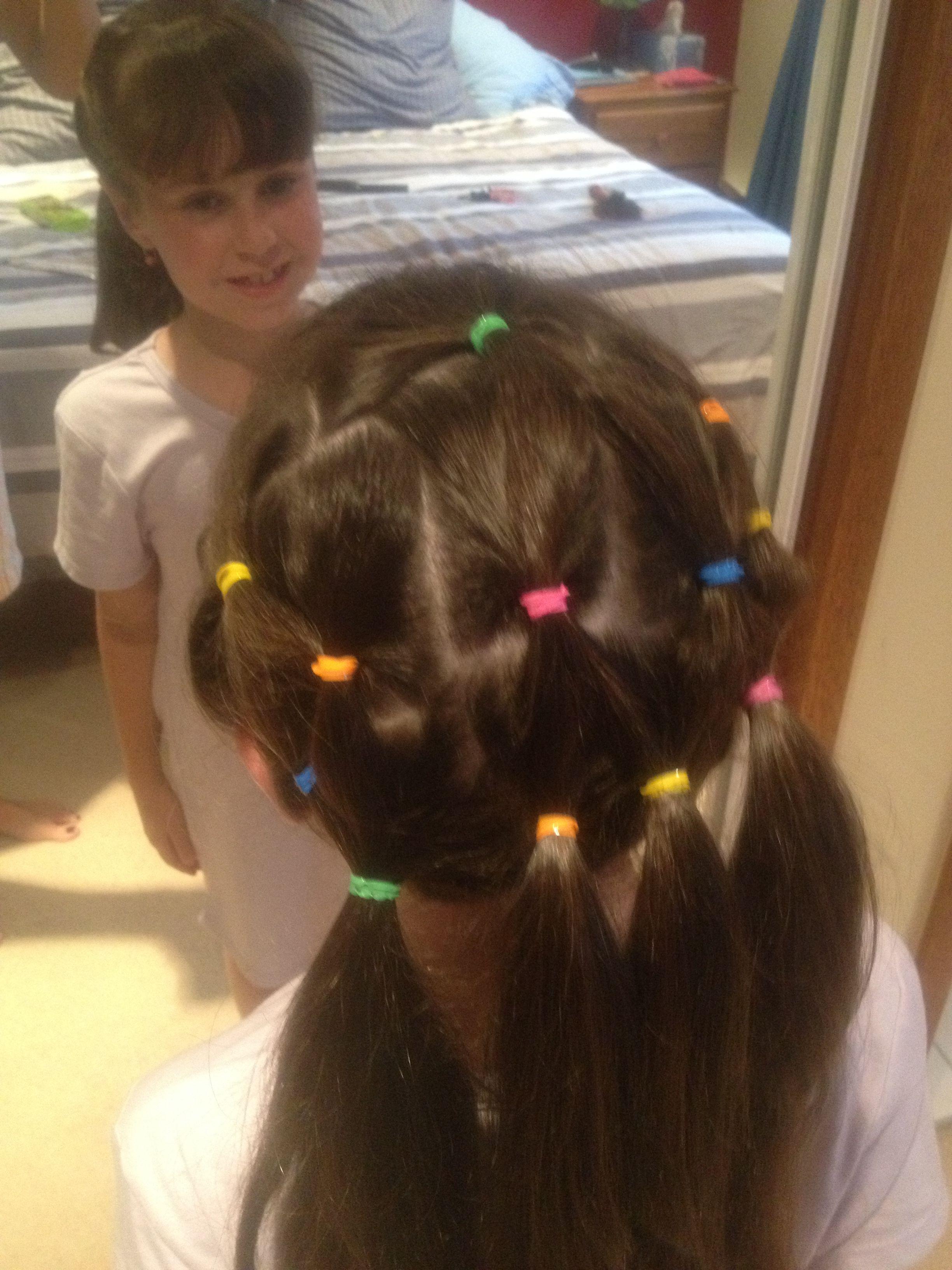 Multiple Ponytails Hair Hair Ponytail Beauty