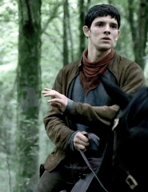 I do love it the few times Merlin take the lead!