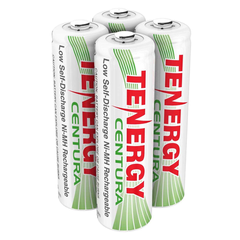 4pcs 1 X Card Tenergy Centura Nimh Aa 1 2v 2000mah Rechargeable Batteries Rechargeable Batteries Nimh Recharge