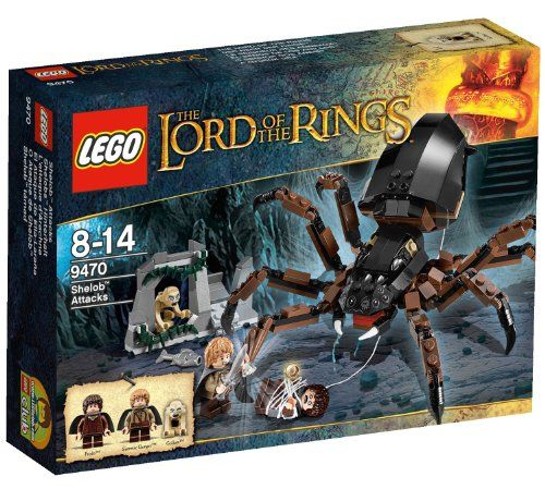 Lego Lord Of The Rings Shelob Attacks Learn More By Visiting