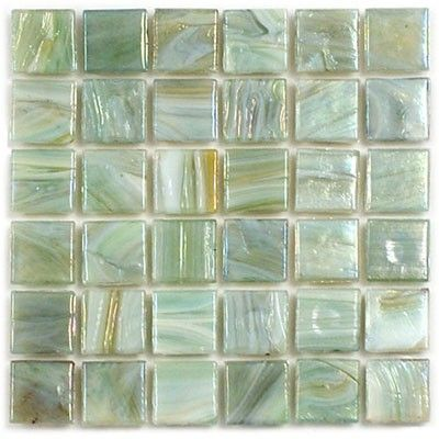 Sheet Size 13 1 4 X 13 1 4 Tile Size 5 8 X 5 8 Tiles Per Sheet 400 Tile Thickness 1 8 Sea Glass Tile Mosaic Glass Recycled Glass Tile