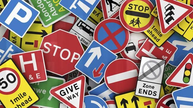 Has the time come to dump road signs? | 2018 | Driving tips