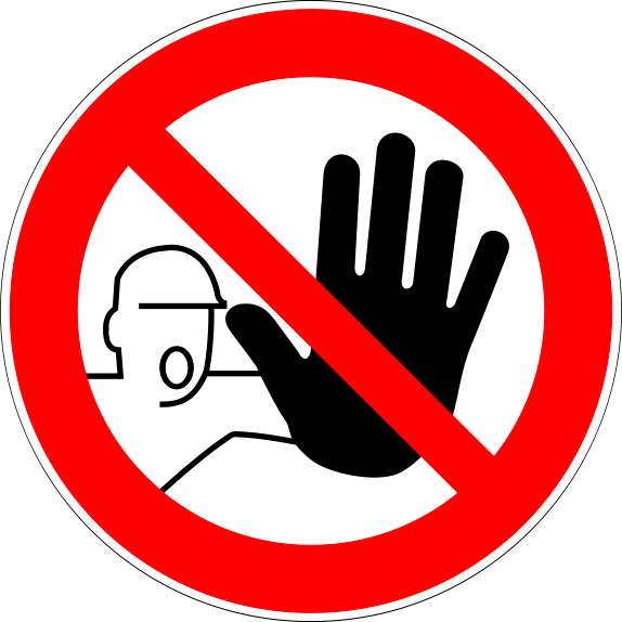 picture about Do Not Enter Sign Printable titled Printable Lab Security Indication Quiz Recommendations for the Room inside of 2019