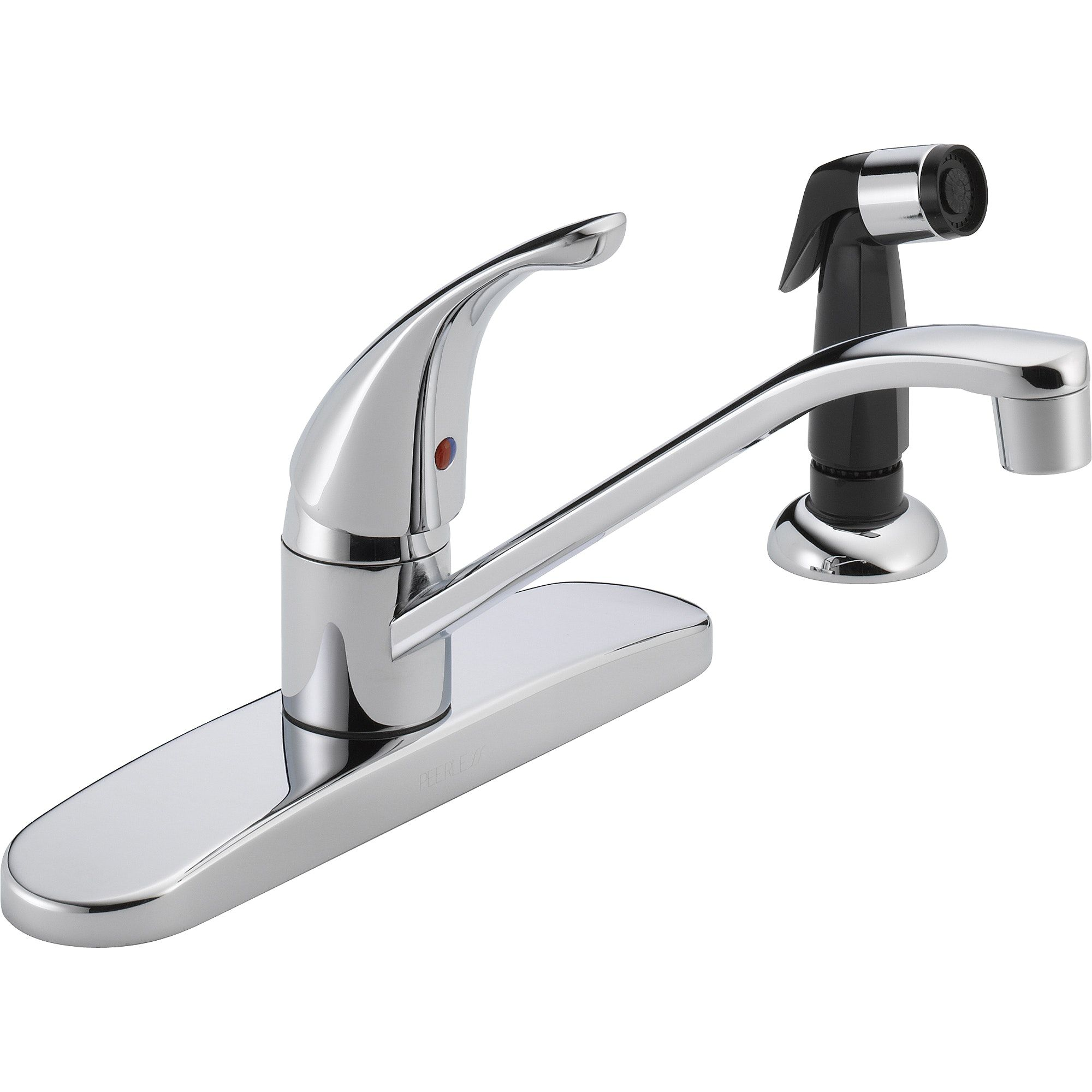 Wall Mount Single Handle Kitchen Faucet Budeli Design Moen With Spout