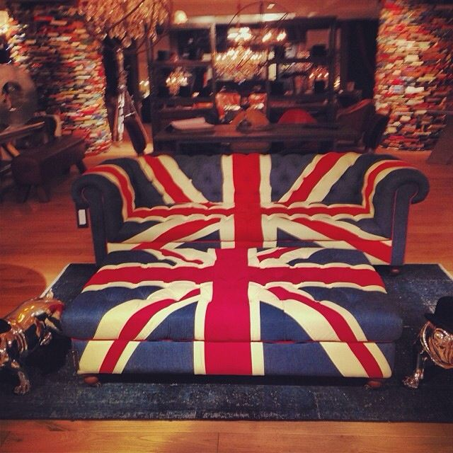 British Flag Couch Yes With Images