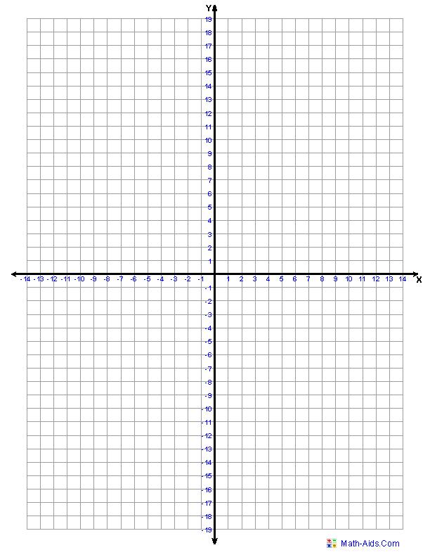 free four quadrant graph paper