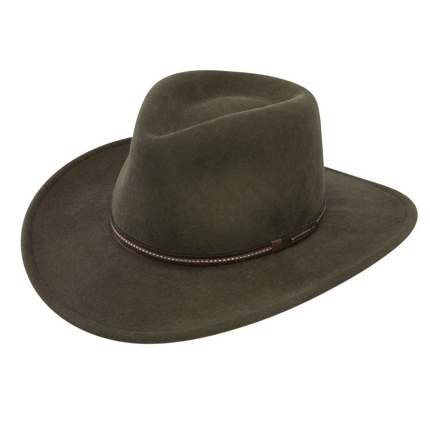 Stetson Gallatin Crushable Wool Hat  b106836b0c44