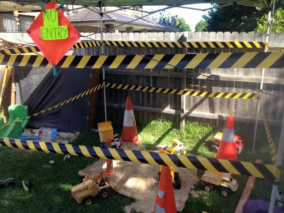 construction birthday idea