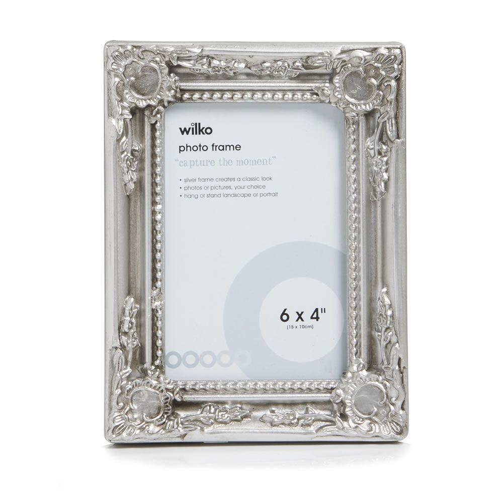 Wilko Rococo Frame Silver 6x4in | Frames decor ✨ | Pinterest ...