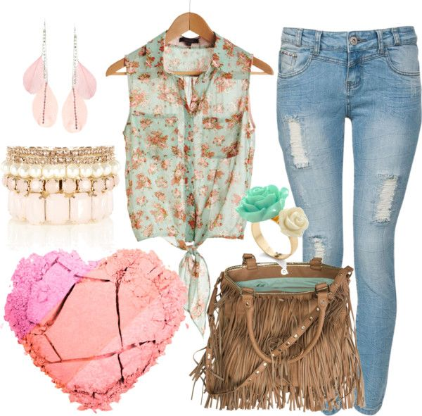 """""""Summer Breeze"""" by zelickingcat on Polyvore"""