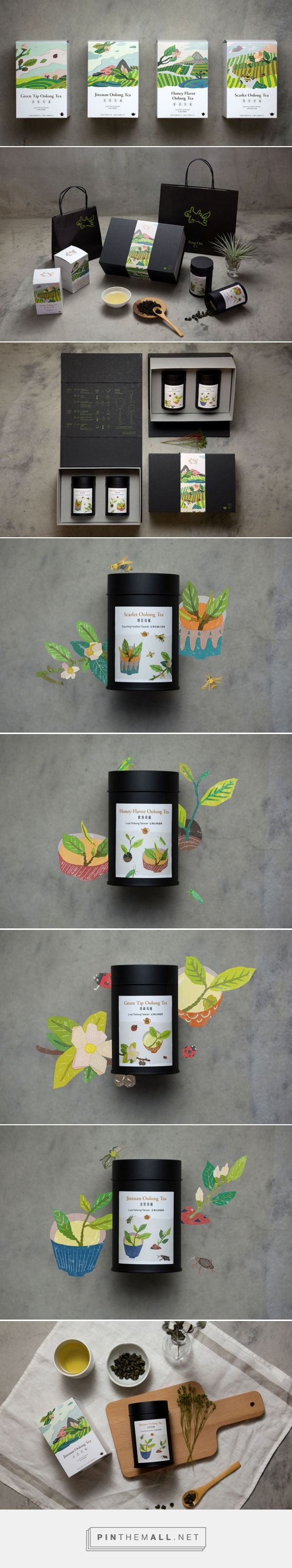 FongCha Tea — The Dieline - Branding & Packaging - created via https://pinthemall.net