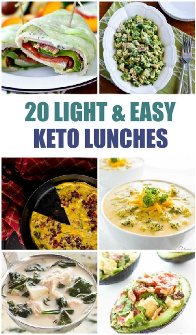 20 Light and Easy Keto Lunches images