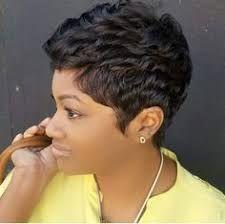 Image result for very short razor cut black hairstyles | razor black ...