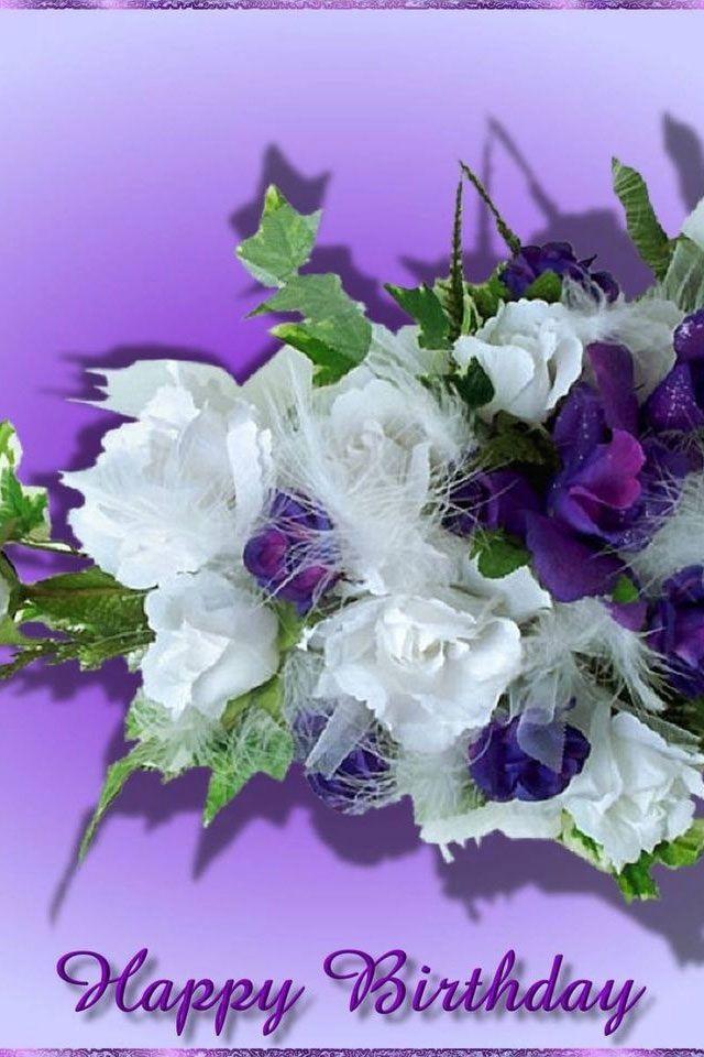 Happy Birthday Flowers Happy Birthday Flowers Iphone 4