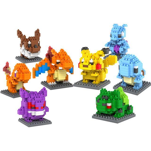 Pokemon Building Kit Lego Nanoblocks Toys Hobbies Legos