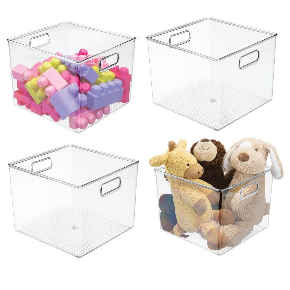 Plastic Kids Toy Storage Organizer Bin 10 X 10 X 7 75 In 2020 Kid Toy Storage Toy Storage Modern Closet Organizers