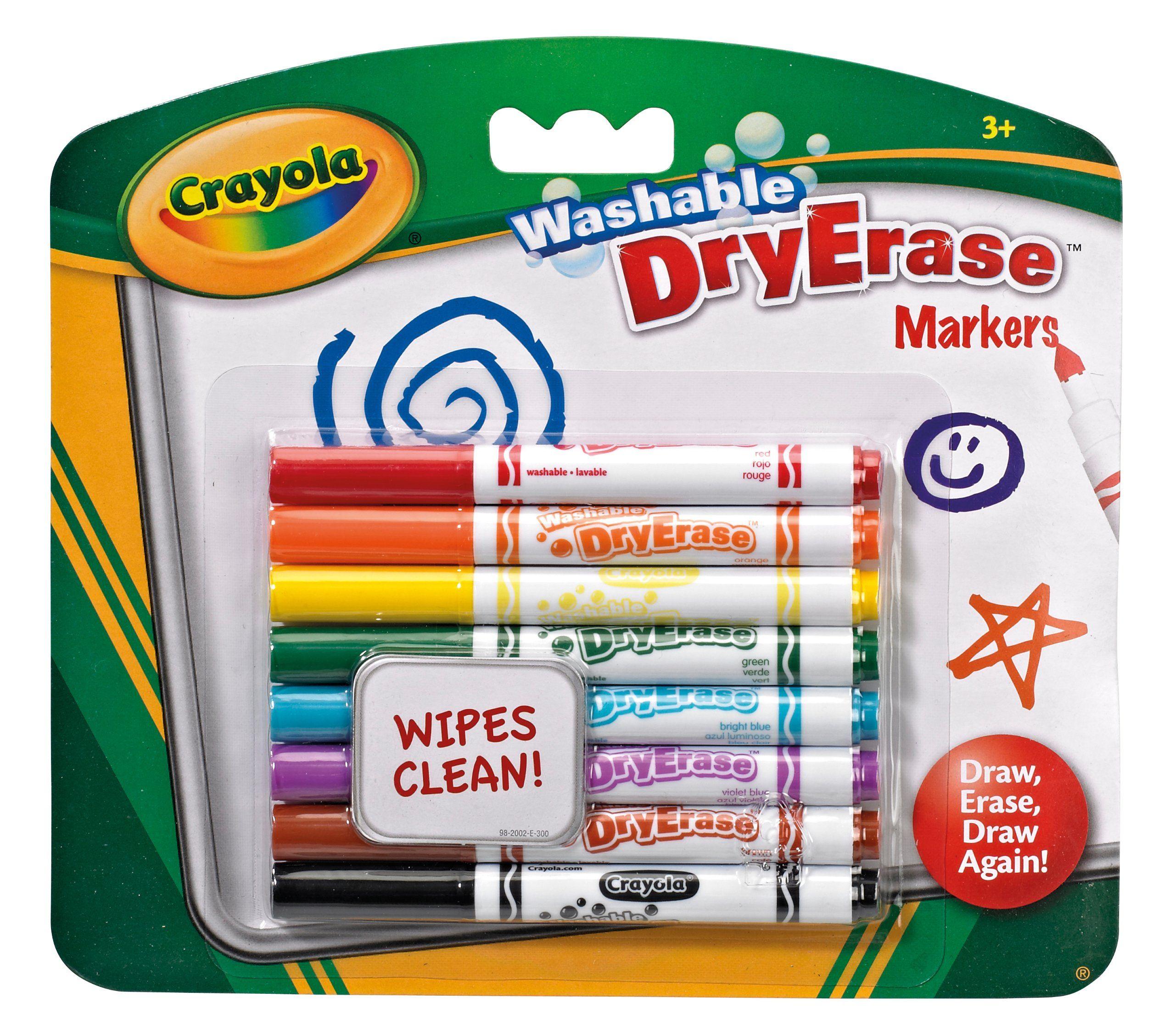 Crayola dry erase washable dry erase markers amazoncouk