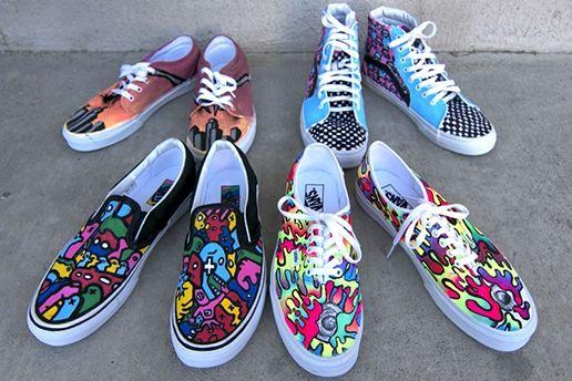 Vans Custom Culture Art Sole Vans Custom Vans Shoe