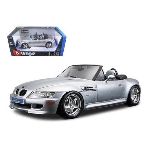 Bmw Z4 Hardtop: BMW Z3 M Roadster Silver 1/18 Diecast Car Model By Bburago