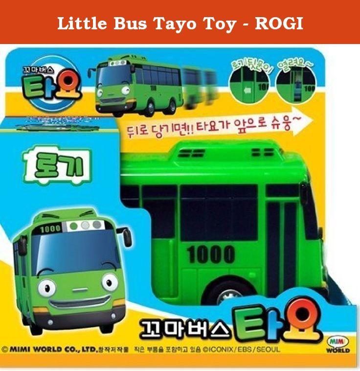 Little Bus Tayo Toy - ROGI. Little Bus Tayo Toy. ROGI (Green Bus). 5cm x 11cm x 5.5cm.