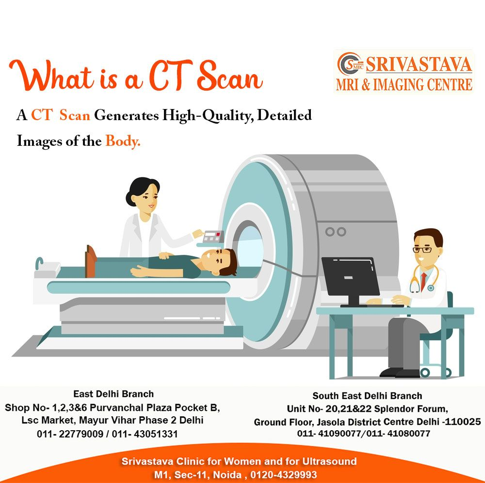CT Scan Centres Near New Friends Colony Srivastava MRI