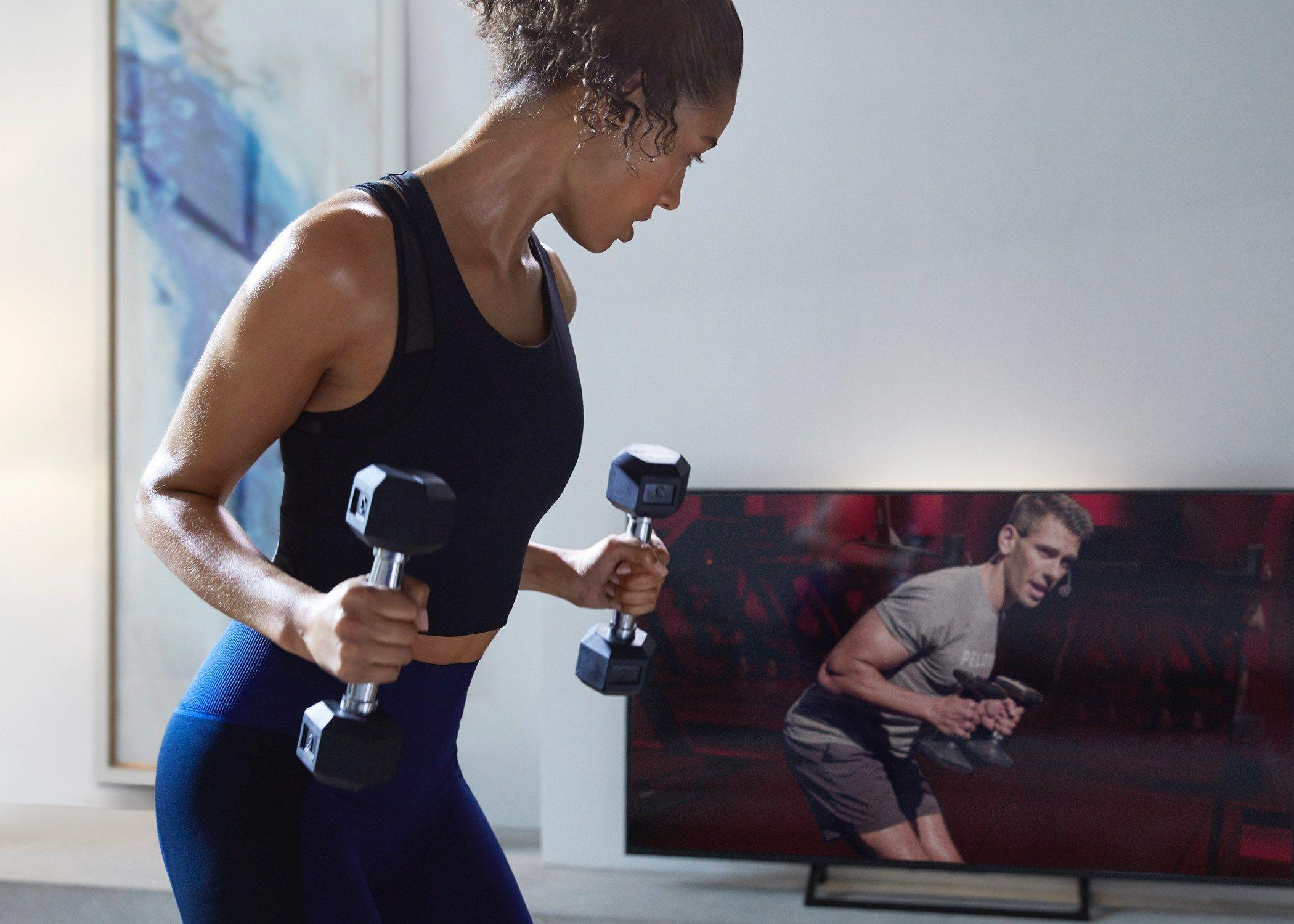 Home exercise coming back peloton digital app 10000