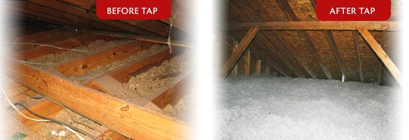 Tap Attic Insulation Reduces Heating And Cooling Bills While Seeing An Immediate Roi Pest Protection And Fire Safet Attic Renovation Attic Insulation Stairs