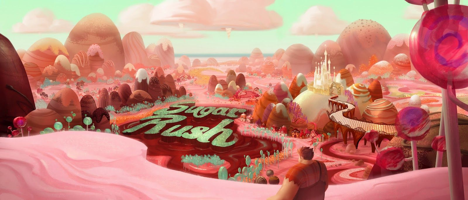 Wreck It Ralph Sugar Rush Castle Google Search Candy
